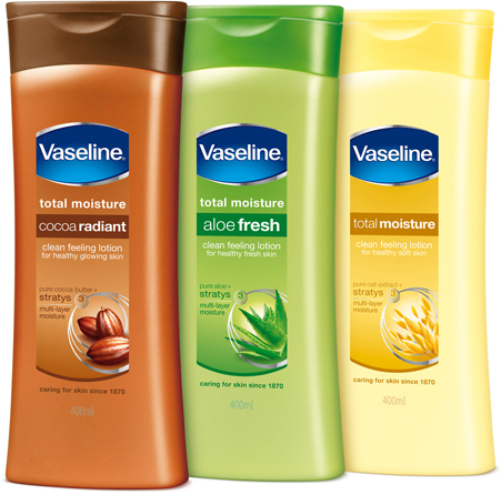 Vaseline lotion new design
