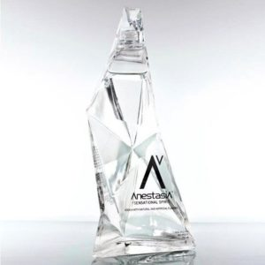 Anestasia Vodka Bottle Packaging Design