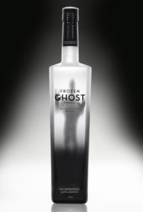 Frozen Ghost Vodka Bottle Packaging Design