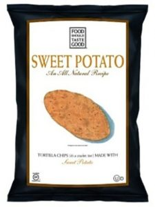 Snack Packaging Samples - Food Should Taste Good Chips