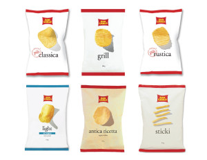Snack Packaging Samples - San Carlo Chips