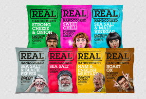 Snack Packaging Samples - Real Handcooked Chips