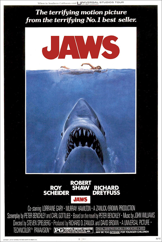 Jaws one-sheet
