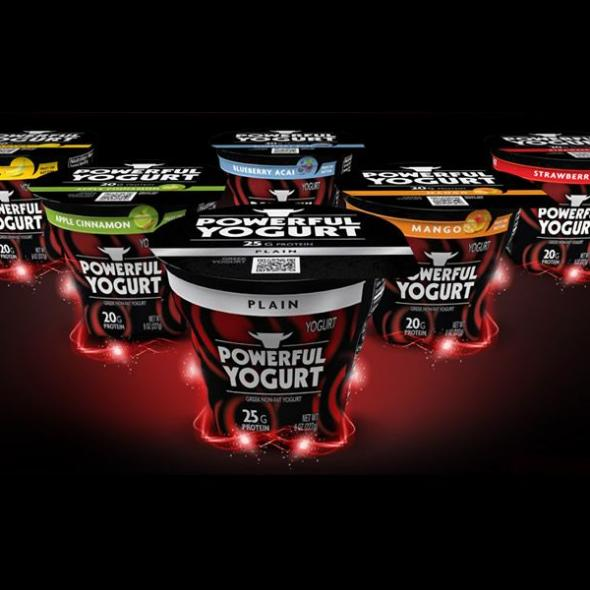 Creative Packaging - Masculine Yogurt