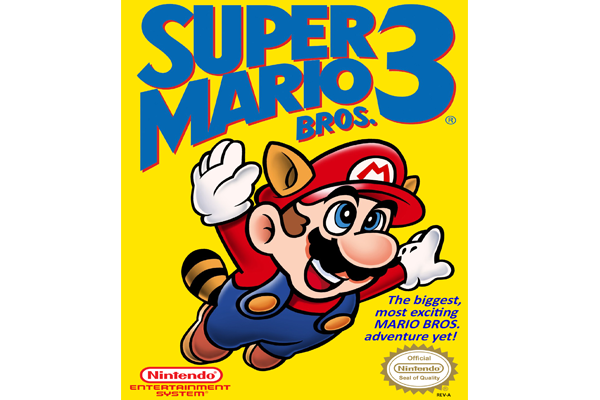 Super Mario Video Game Packaging