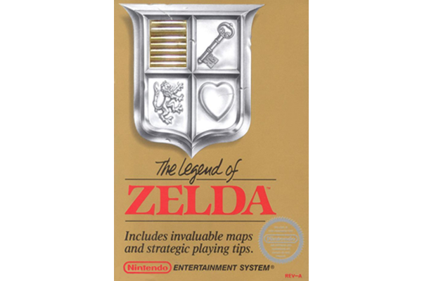 Legend of Zelda Video Game Packaging