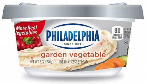 Kraft's Philadelphia new food packaging design