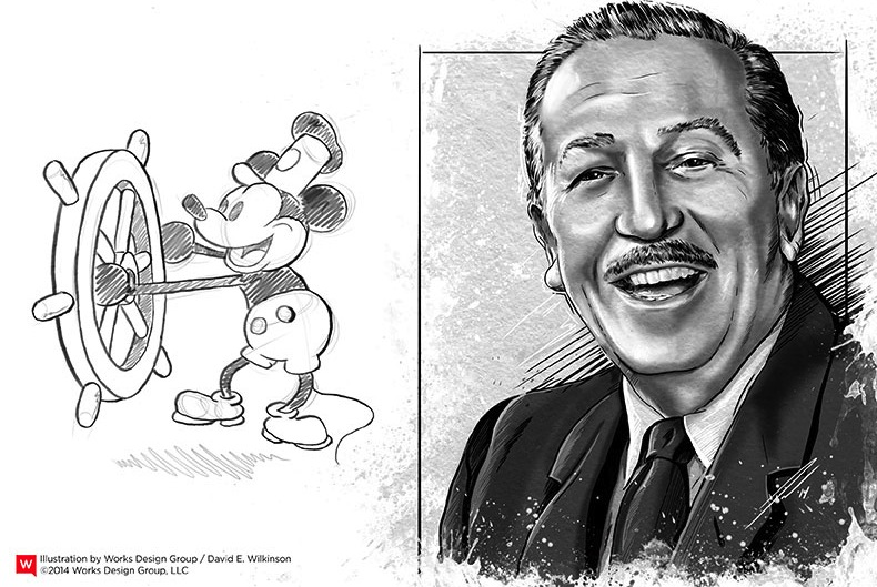 Walt disney biography essay